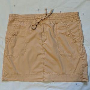 Loft khaki skirt